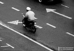go ahead (Nooh Essa) Tags: white motion black rain ahead speed go rainy malaysia arrows