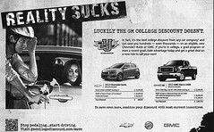 GM 'stop pedaling' ad