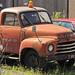 20110615_05 Ancient orange truck - reportedly an Opel Blitz (1956-57)   Flüelen, Switzerland