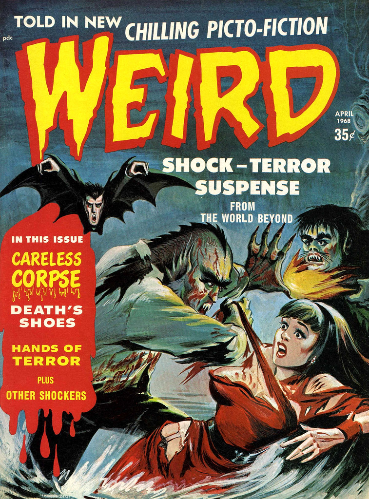 Weird Vol. 02 #6 (Eerie Publications, 1968)