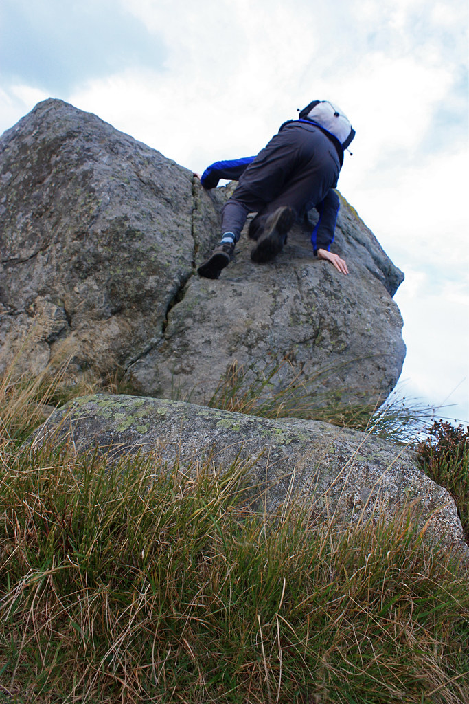 Scolty Hill bouldering