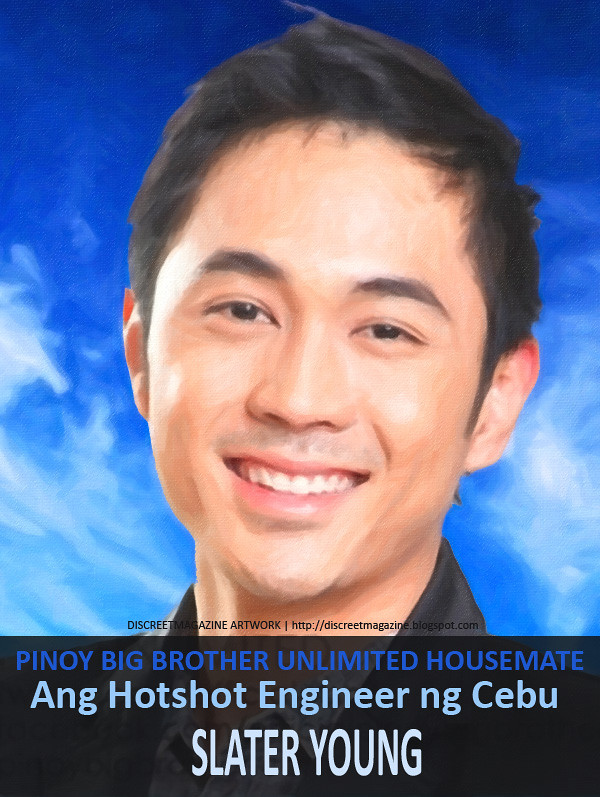 PBB Unlimited Housemate Slater Young 1