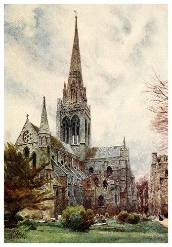 016- Chichester- Cathedral cities of England 1908- William Wiehe Collins