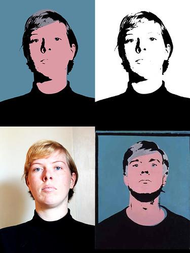 me as Warhol