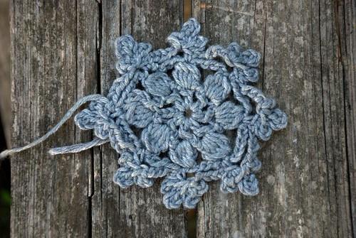 crochet mending