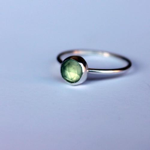 Mini Peridot Ring
