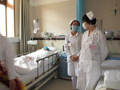 Post OP Recovery, Gansu Provincial Hospital. (deanspic) Tags: china hospital medical medicine lanzhou doctors nurses gansu g12 bethunetour gansuprovincialhospital