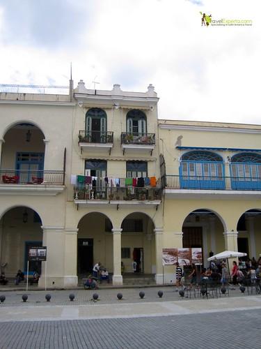 People Living Everywhere in Havana Vieja - Cuba