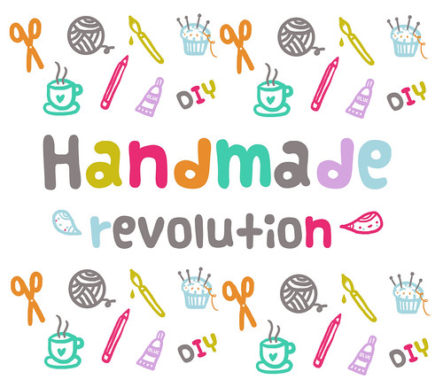 handmade revolution by Pinkrain Indie Design