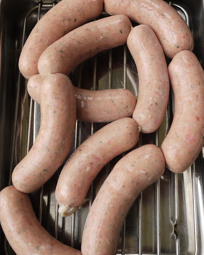 Cambridge  or Cambridgeshire sausage