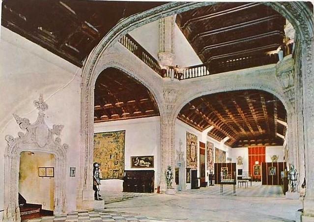 Hospital de Santa Cruz convertido en museo a mediados del siglo XX