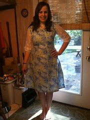 9 Outfit - Homemade dress for my brother's wedding