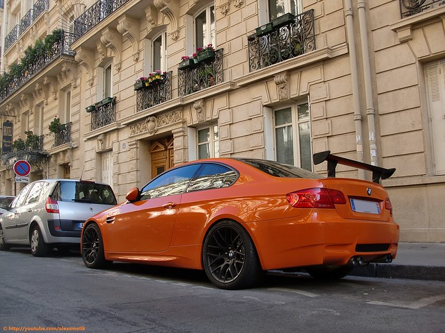 auto orange black paris cars car sport race automobile racing tip bmw vehicle m3 rims rare exhaust spoiler gts racecars blackrims sportcars bmwm3 orangecars orangebmw bmwm3gts m3gts bmwrace alexsmolik bmwspoiler bmwsport