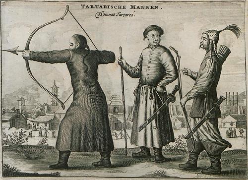Tartarische mannen