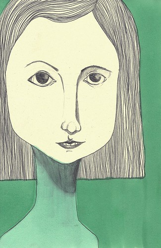 Retrato en verde by willy ollero*