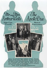 Mr. and Mrs. Arthur Wells, the Apollo Duo (Inside) (Alan Mays) Tags: old music men musicians vintage ads advertising toys women dolls singing antique couples ephemera folded pianos advertisements brochures flyers vocals notices fliers companies musicalinstruments banjos paperdolls handbills saxophones leaflets vocalists entertainers circulars papertoys buescher diecuts bassoons arthurwells apolloduo altawells altarwells apolloconcert apolloconcertco