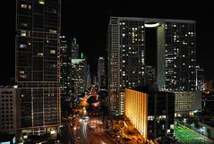 Postcard 14 (DigitalLUX) Tags: street city urban lights evening luces noche calle florida miami ciudad streetscene urbanlandscape paisajeurbano