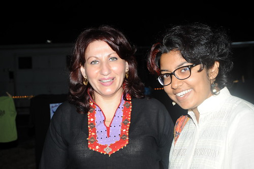 Lucy Amaya Siddiqui with Haya Iqbal