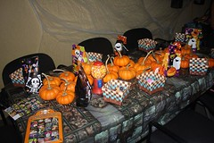 Pumpkin Decorating (HightailHQ) Tags: costumes party holiday halloween fun office yousendit