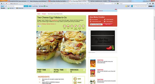 Frittatas Recipe Page