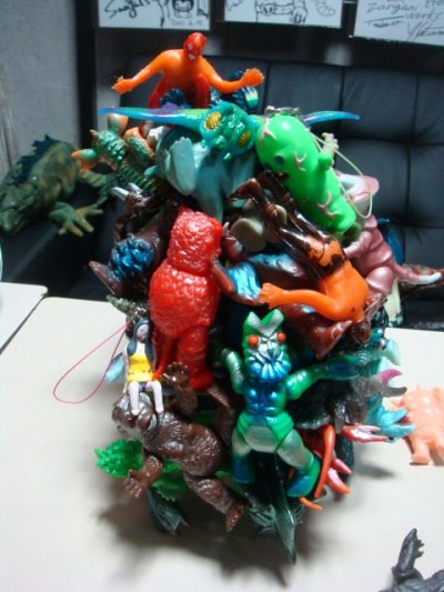 Mini Sofubi Stacking game