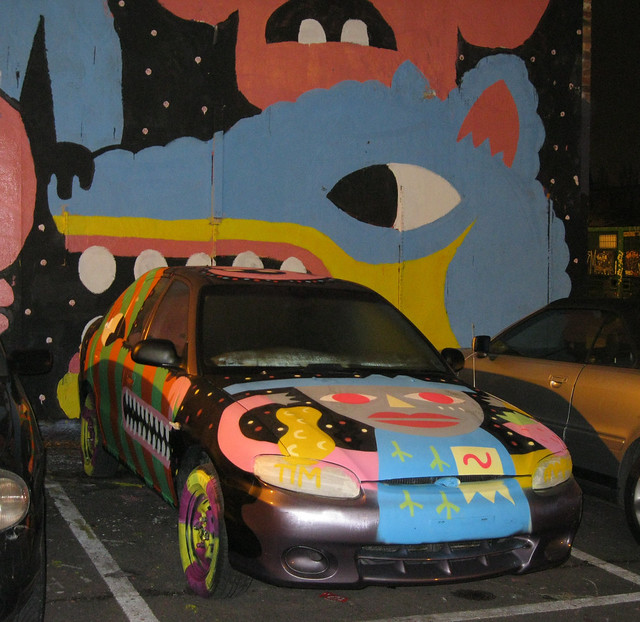 Neo Cosmo show car & wall