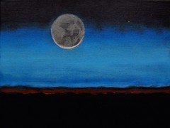 Alizey Khan - Moon (alizeykhan) Tags: moon art painting stars space galaxy nebula cosmic cosmos nebulae spacetuna
