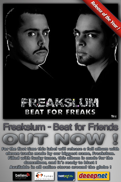 EHZEP079 - Freakslum - Beats for Freaks EP - 11Hz Recordings