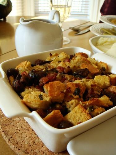 Chestnut Mushroom Pancetta Stuffing & Gravy