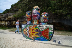 sculpture by the sea (AS500) Tags: sea sculpture art bondi by coast boat head walk mosaic sydney coastal tamarama 2011