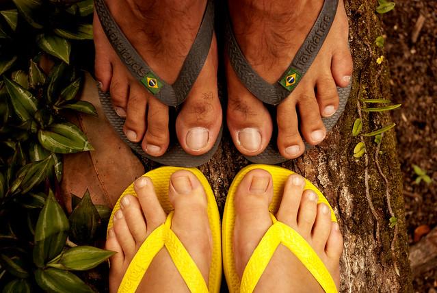 Matching feet