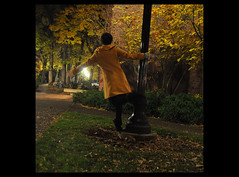 Day 124: Dancing in the Leaves