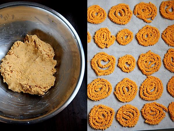 crispy wheat chakli