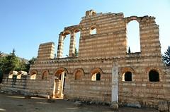 Anjar, Umayyad city, al-Walid I, 705-15, great palace (5) (Prof. Mortel) Tags: lebanon umayyad anjar