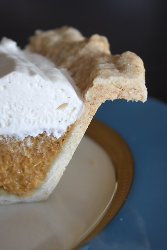Pumpkin-Vanilla Cream Pie