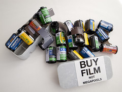 Buy film, not mega pixels! (Japancamerahunter) Tags: film japan kodak velvia neopan agfa elitechrome provia sensia acros astia foma presto fomapan fujifulm filmcase nohdr moarfilm japancamerahunter deathtohdr filmpls