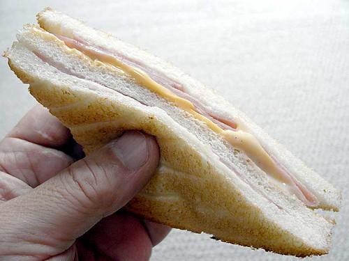 ホットサンドハムチーズ