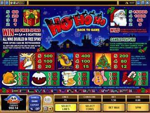 Ho Ho Ho Slots Payout