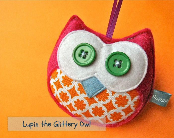 Lupin the Glittery Owl