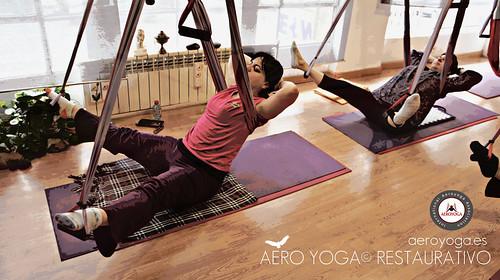 AYURVEDA SWING* Terapia Anti Edad en el Columpio de Aero Yoga®