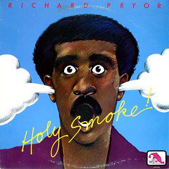 Holy Smoke (epiclectic) Tags: music art illustration vintage comedy album cartoon vinyl retro collection cover lp record comedian 1980 sleeve laff richardpryor epiclectic