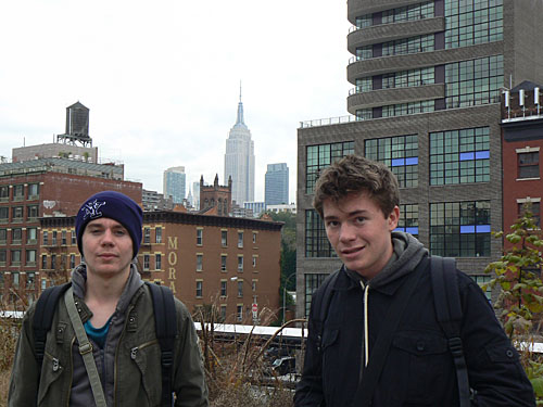 clem et paul sur la high line, nyc.jpg