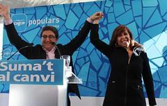 Enric Millo y Alícia Sánchez-Camacho