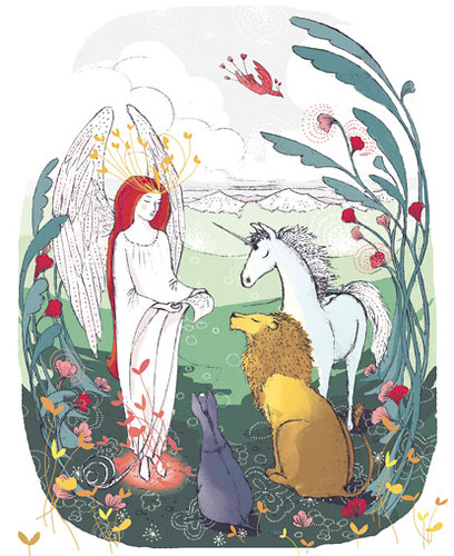 Jeanette Winterson and Rosalind Mac Currach, The Lion, the Unicorn and Me