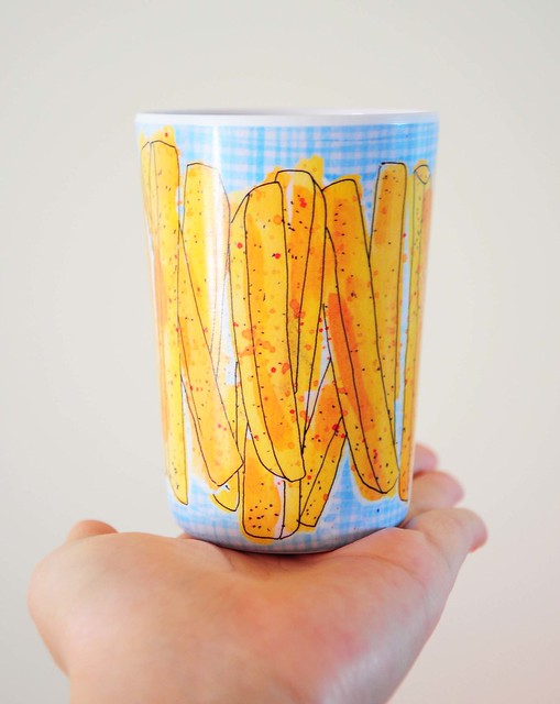 Happy Fries Melamine Cup!