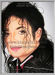 portrait drawing michael jackson from khaled3ken (Gallery Khaled3Ken) Tags: world light two portrait music art cup speed work painting wonder gold star football goal freestyle artist fussball drawing pastel soccer fine under arts drawings skills player tricks teaching draw reaction fifaworldcup   thearts   gemaltes   portraet associationfootball        khaled3ken