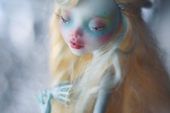 (oso_polar) Tags: blue monster toy high doll custom mh repaint lagoona