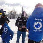 Ford Swette (WMSC/BCST) models his new 2011/12 BC Ski Team Jacket