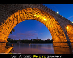 Stone Arch Bridge - Minneapolis, Minnesota (Sam Antonio Photography) Tags: railroad bridge minnesota evening cityscape arch minneapolis icon mississippiriver bluehour stonebridge travelphotography stonearchbridge landscapephotography flickrexplore minneapolisskyline minneapolisnight minneapolislandmark stonearchbridgeminneapolis lightroom3 minnesotaatnight minneapolisdusk canon5dmkiicamera samantonio aperture3 samantoniophotographycom stonearchbridgeatdusk midwestphotolocations minneapolisphotolocations wheretophotographinminneapolis