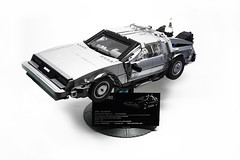 "DELOREAN (""Orion Pax"") Tags: lego delorean backtothefuture timemachine"